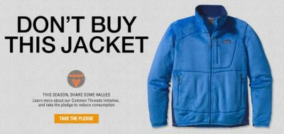 Patagonia Don't Buy This Jacket